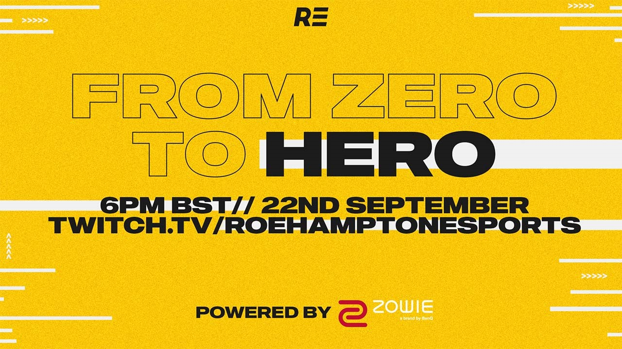From Zero to Hero event psoter